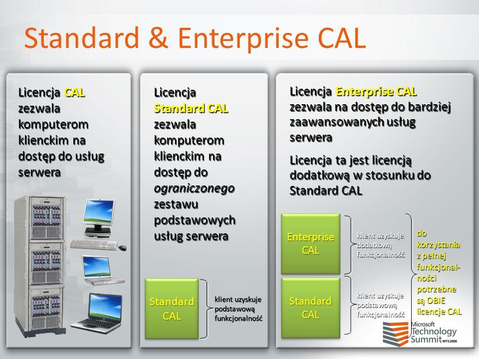 Standard & Enterprise CAL