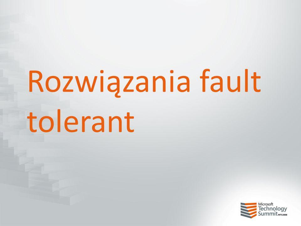 Rozwiązania fault tolerant