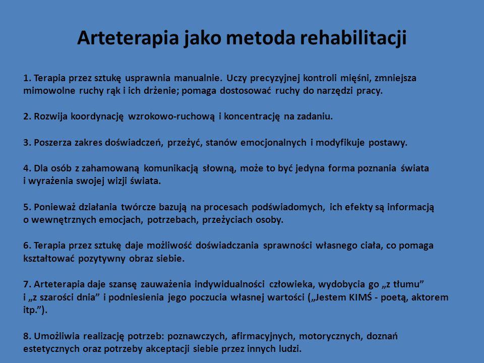Arteterapia jako metoda rehabilitacji