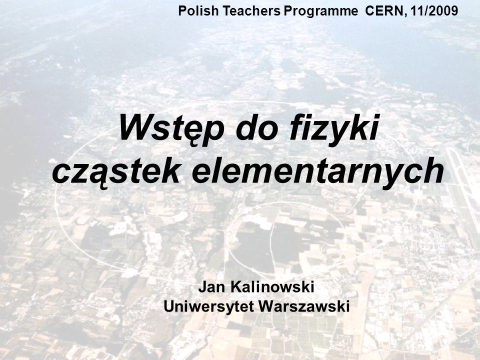 Jan Kalinowski Uniwersytet Warszawski