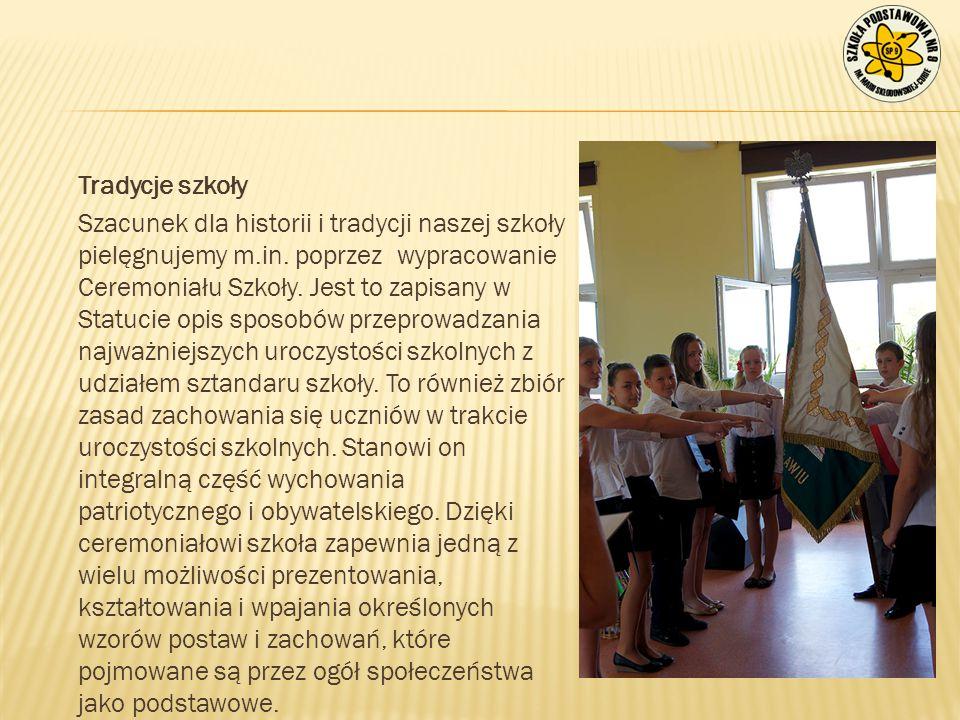 Tradycje szkoły