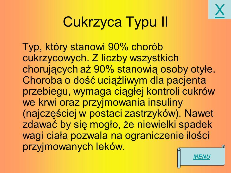 X Cukrzyca Typu II.