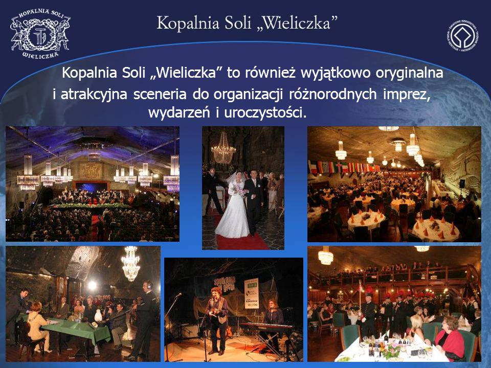 """Kopalnia Soli """"Wieliczka to również wyjątkowo oryginalna"""