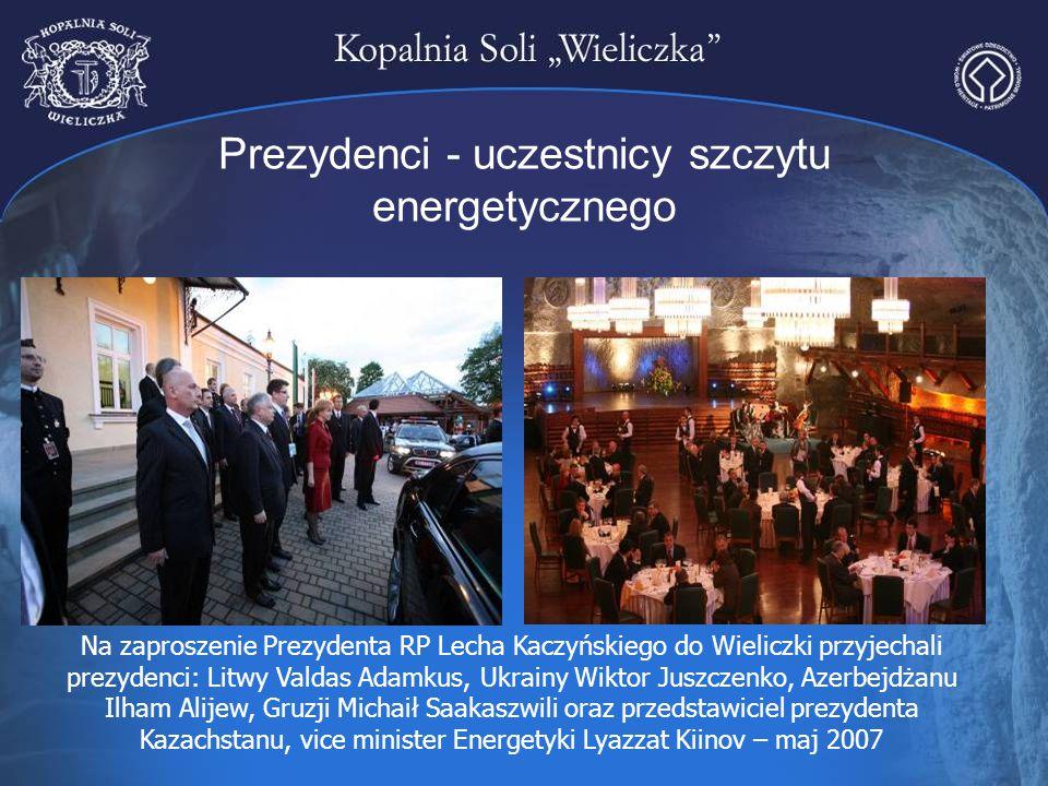 Prezydenci - uczestnicy szczytu energetycznego