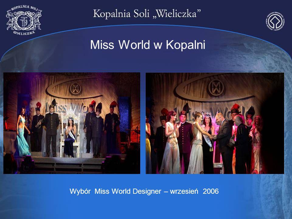 Wybór Miss World Designer – wrzesień 2006