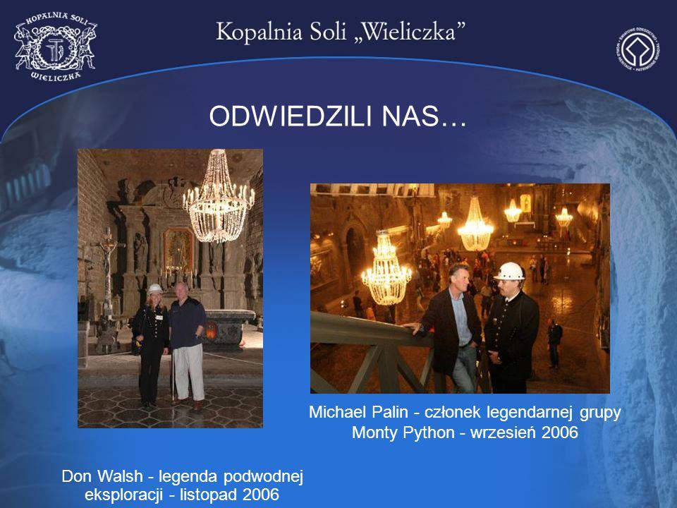 ODWIEDZILI NAS… Michael Palin - członek legendarnej grupy Monty Python - wrzesień 2006.