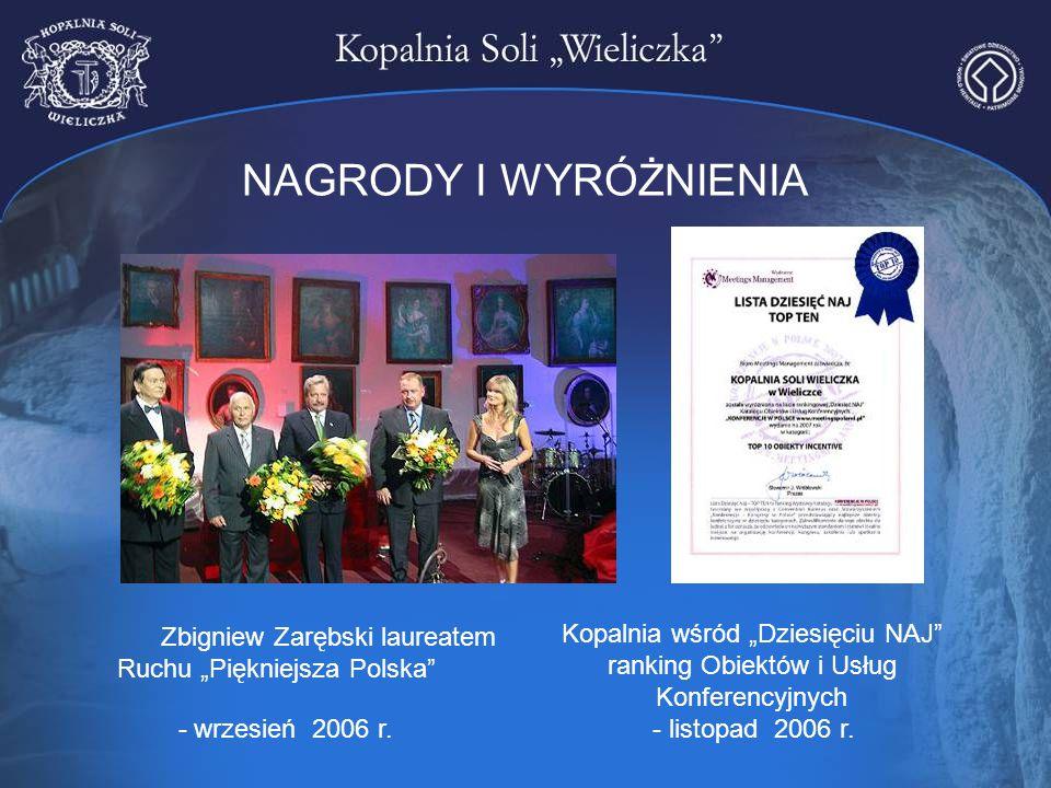 """Zbigniew Zarębski laureatem Ruchu """"Piękniejsza Polska"""