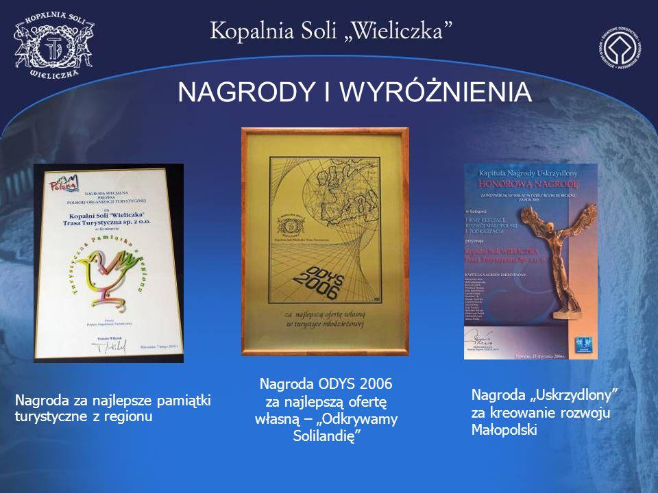 """Nagroda ODYS 2006 za najlepszą ofertę własną – """"Odkrywamy Solilandię"""