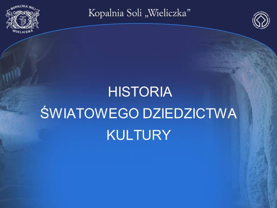 HISTORIA ŚWIATOWEGO DZIEDZICTWA KULTURY