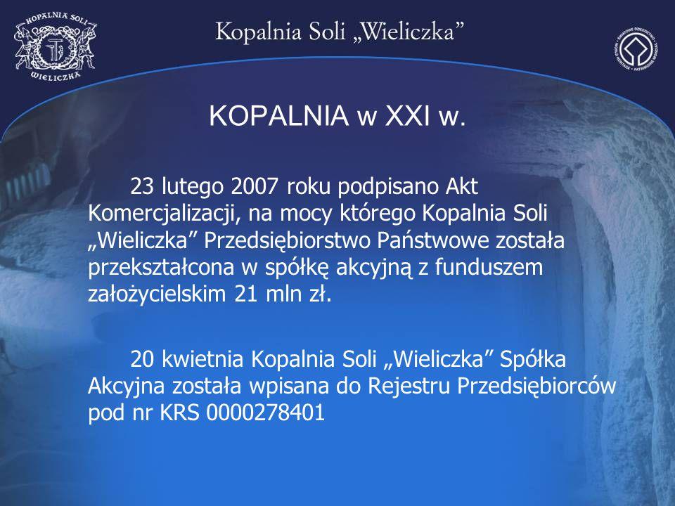 KOPALNIA w XXI w.
