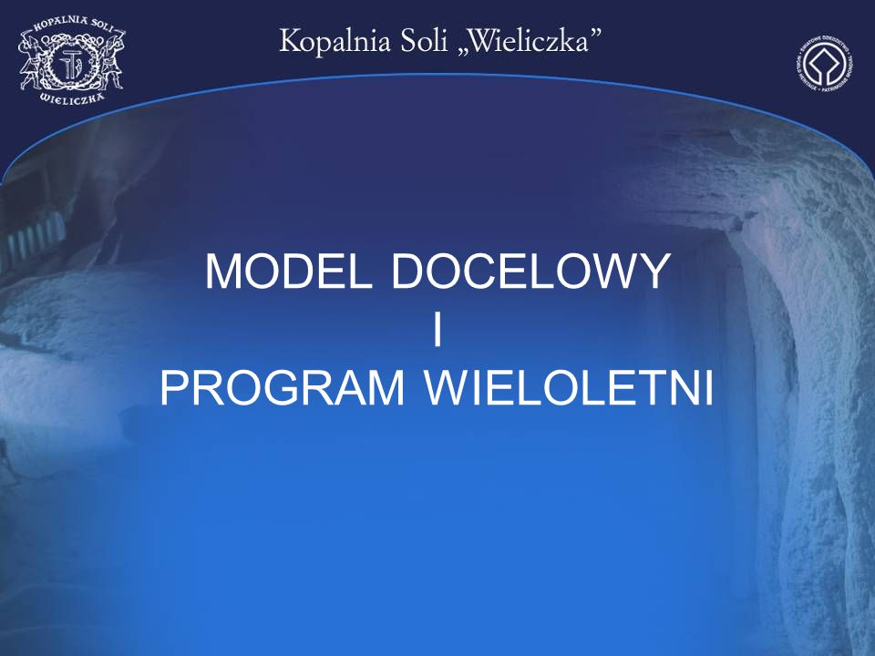 MODEL DOCELOWY I PROGRAM WIELOLETNI