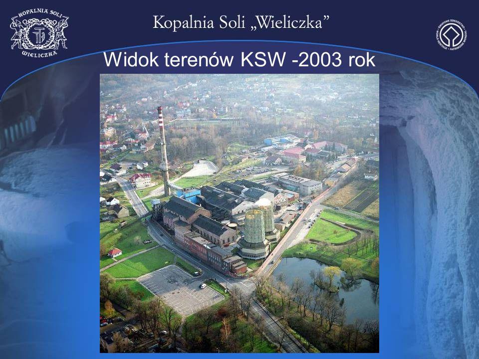 Widok terenów KSW -2003 rok