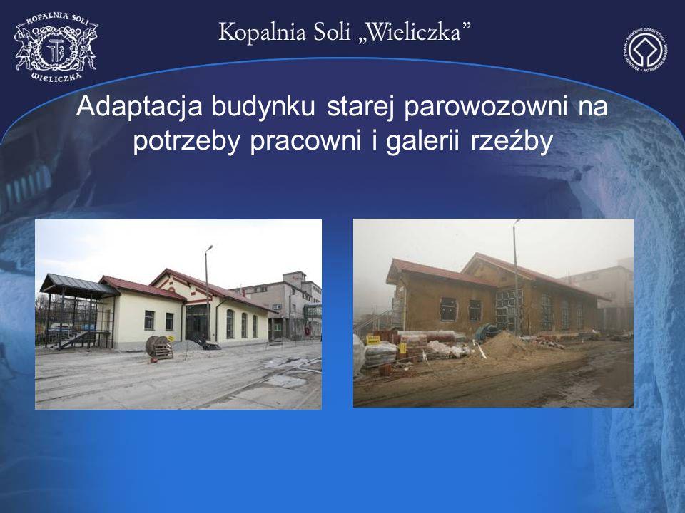 Adaptacja budynku starej parowozowni na potrzeby pracowni i galerii rzeźby