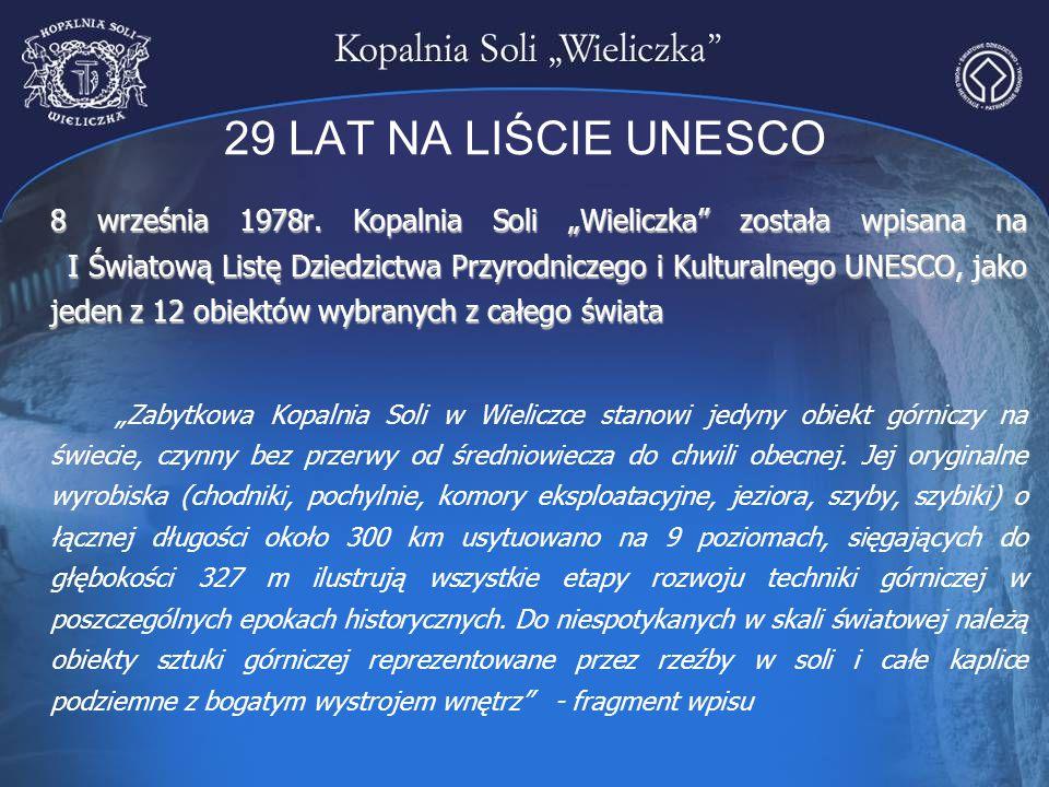 29 LAT NA LIŚCIE UNESCO