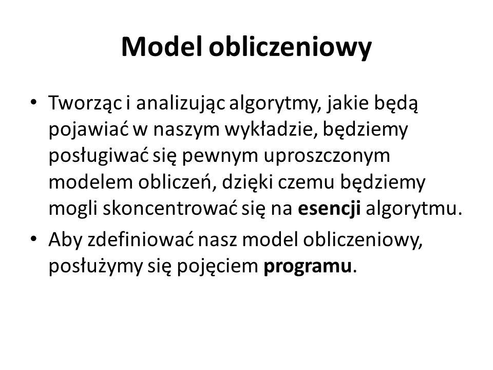 Model obliczeniowy