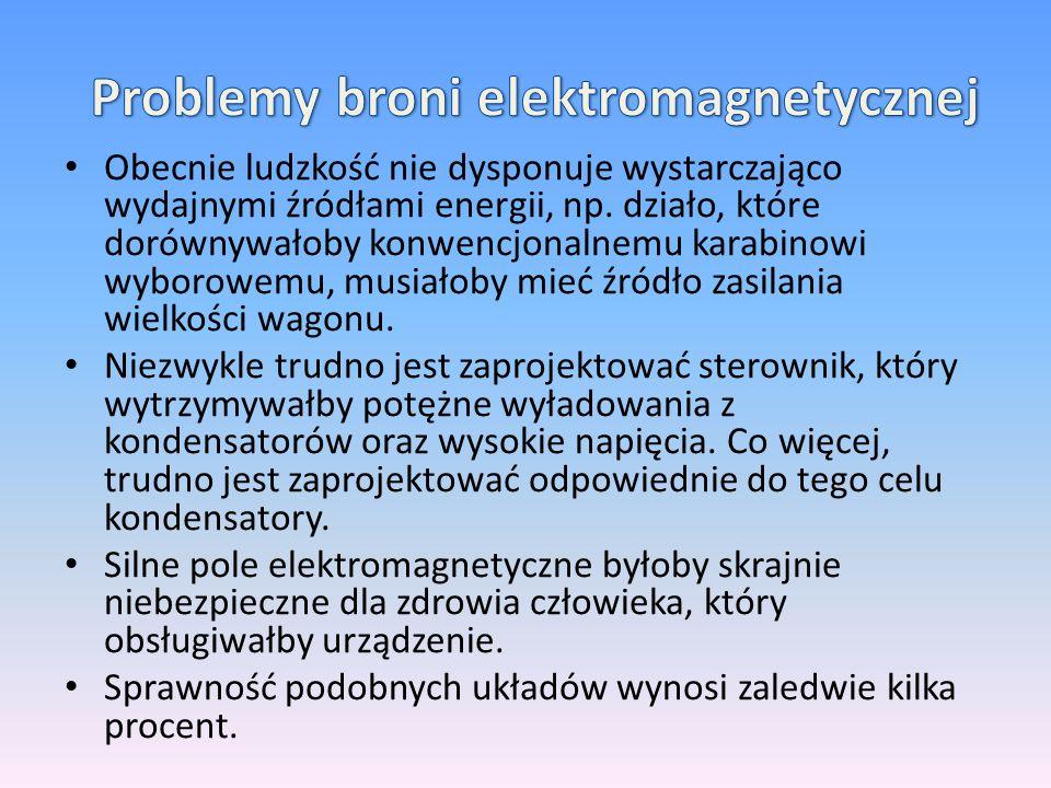 Problemy broni elektromagnetycznej