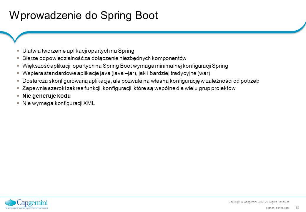 Wprowadzenie do Spring Boot