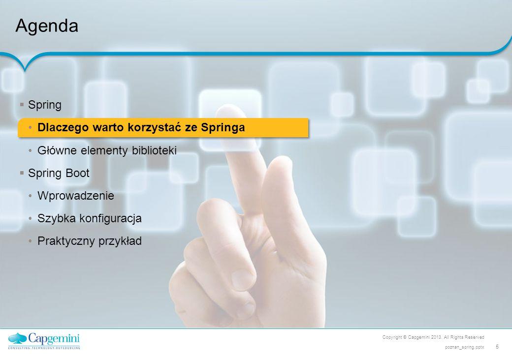 Agenda Spring Dlaczego warto korzystać ze Springa