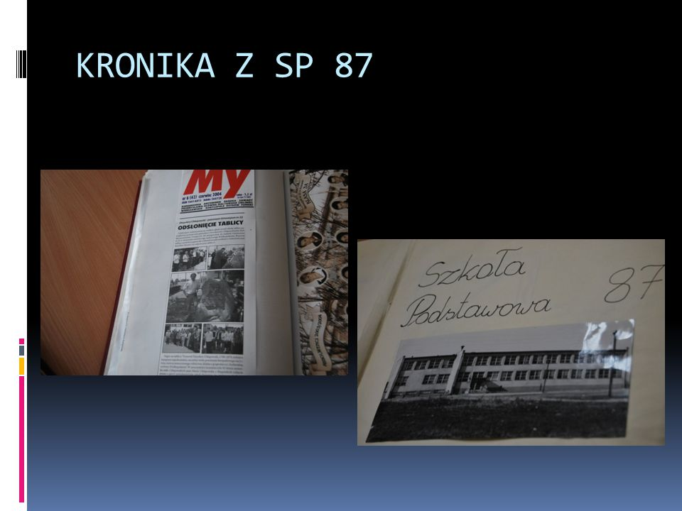 KRONIKA Z SP 87