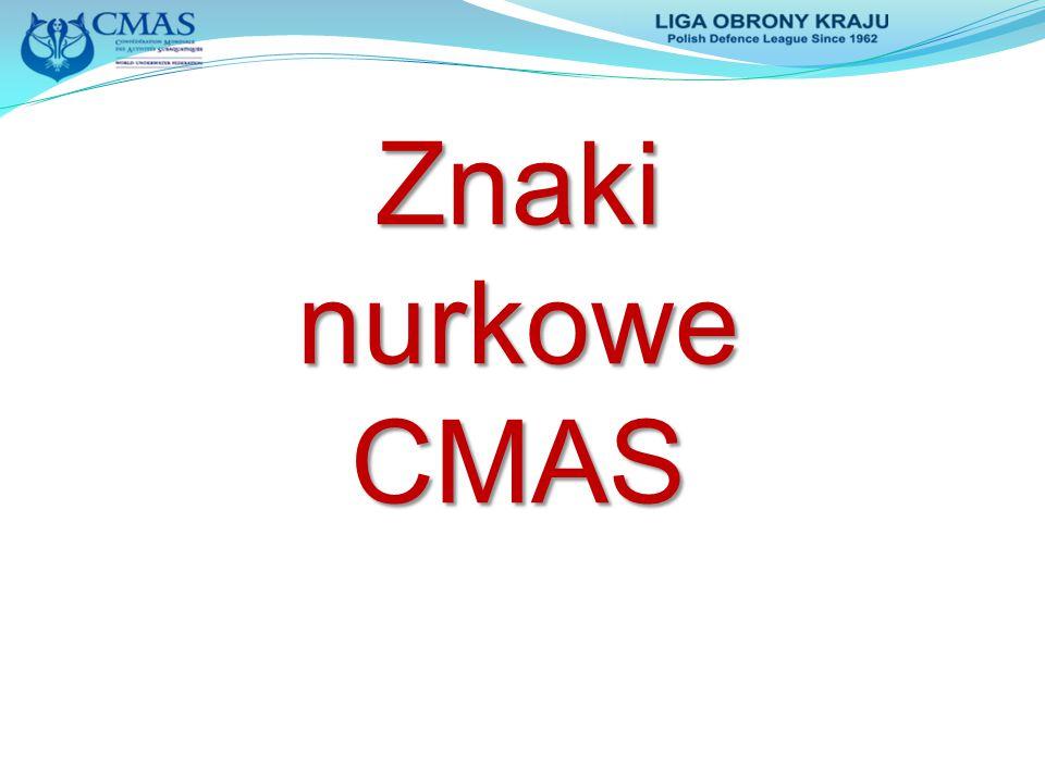 Znaki nurkowe CMAS