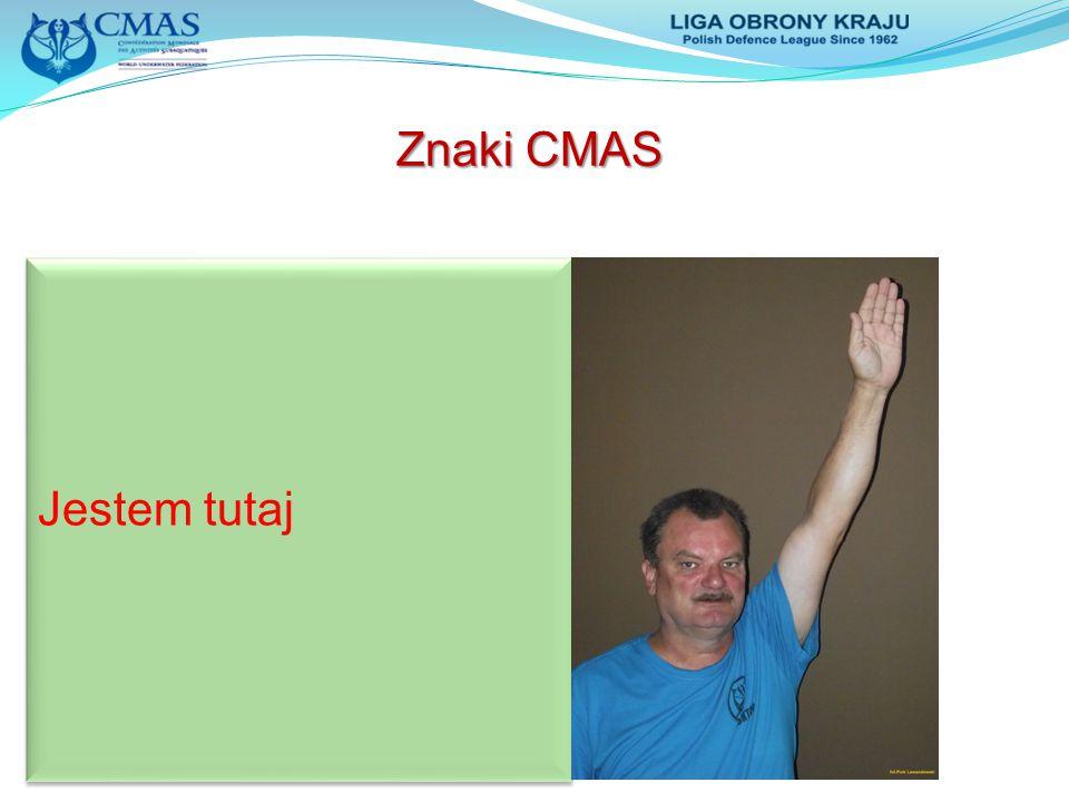 Znaki CMAS Jestem tutaj