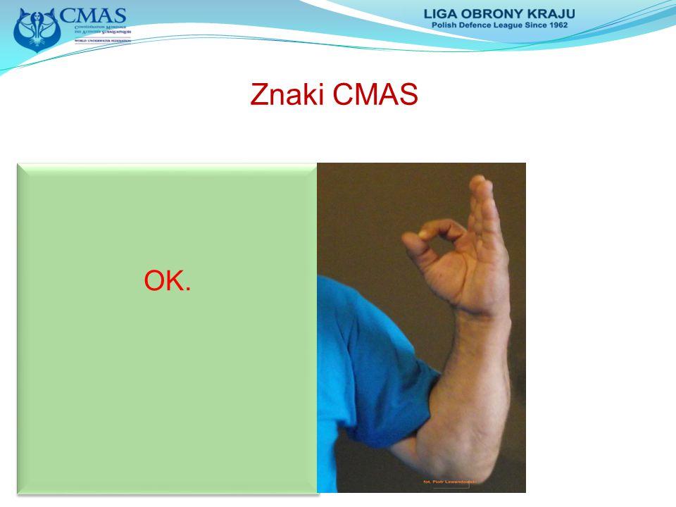 Znaki CMAS OK.