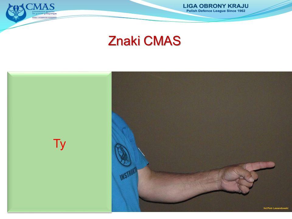 Znaki CMAS Ty