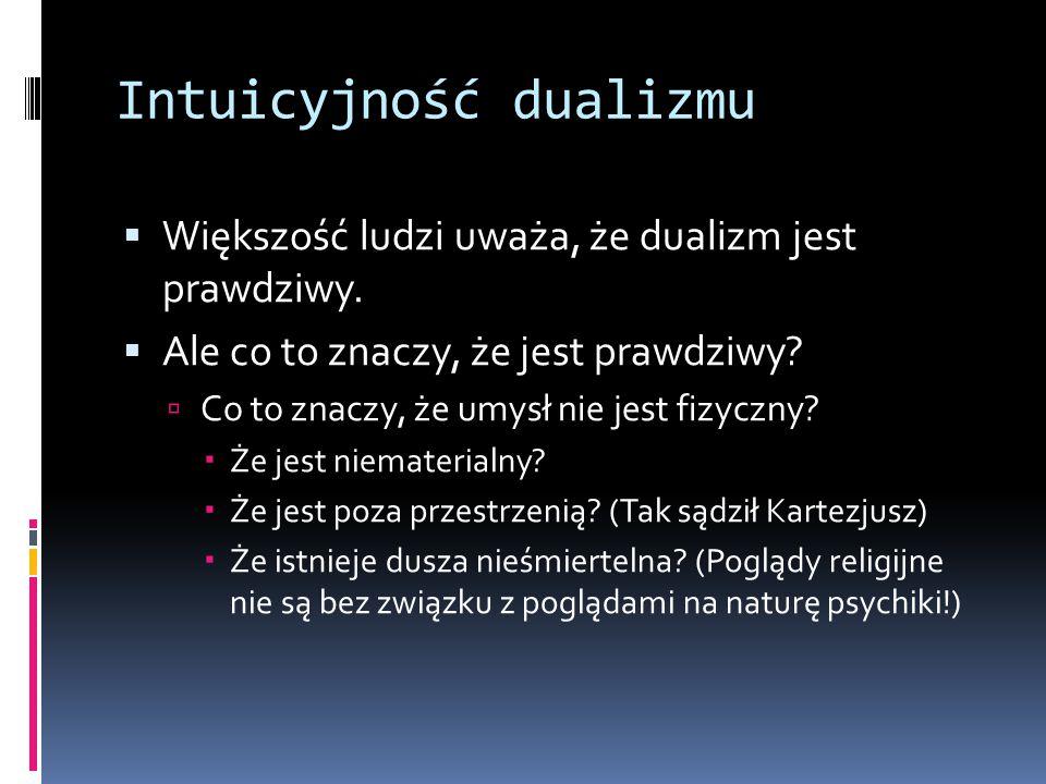 Intuicyjność dualizmu