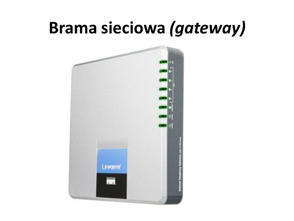 Brama sieciowa (gateway)