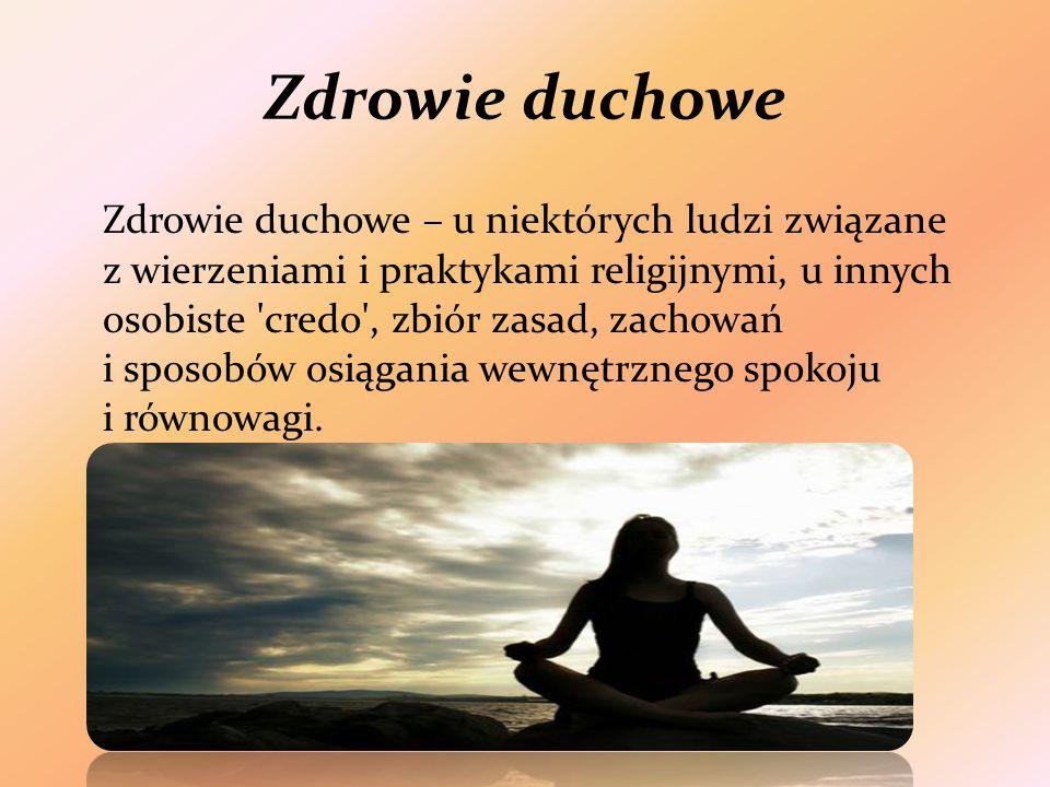 Zdrowie duchowe