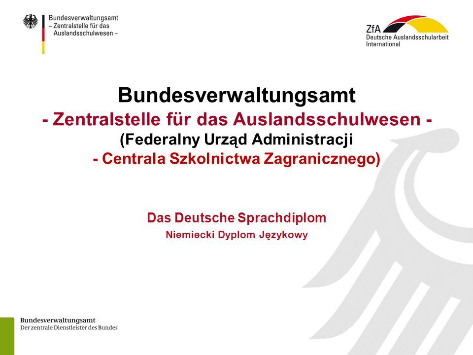 Das Deutsche Sprachdiplom Niemiecki Dyplom Językowy