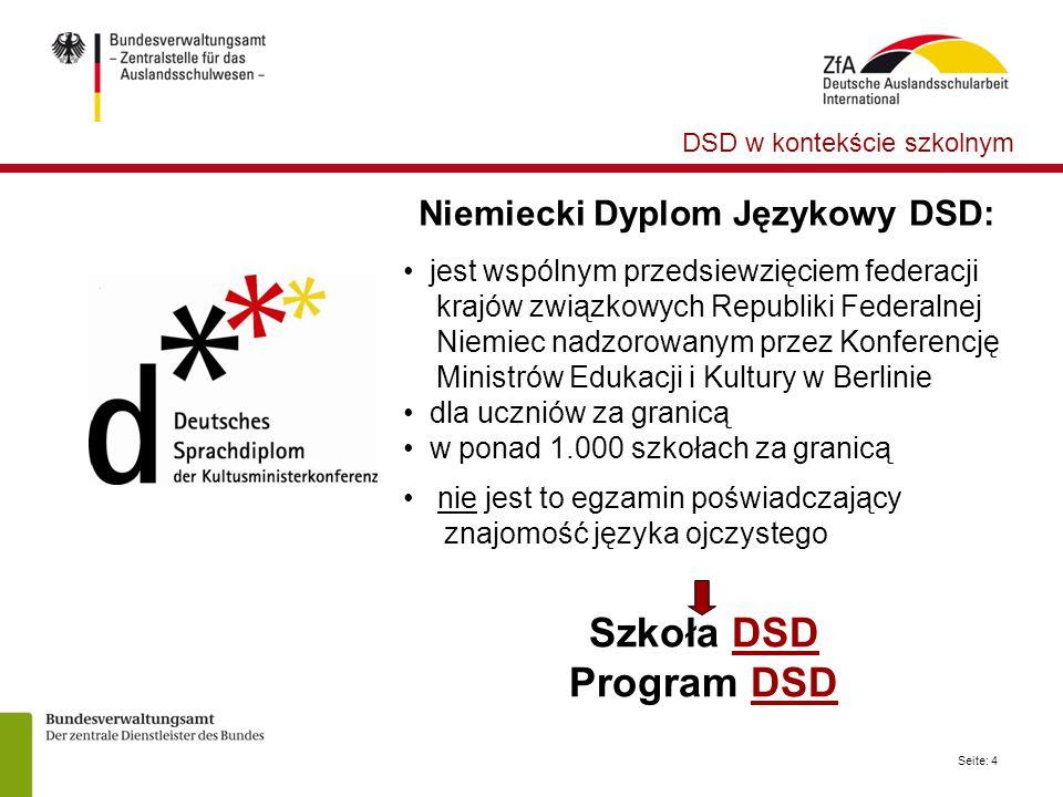 Niemiecki Dyplom Językowy DSD: