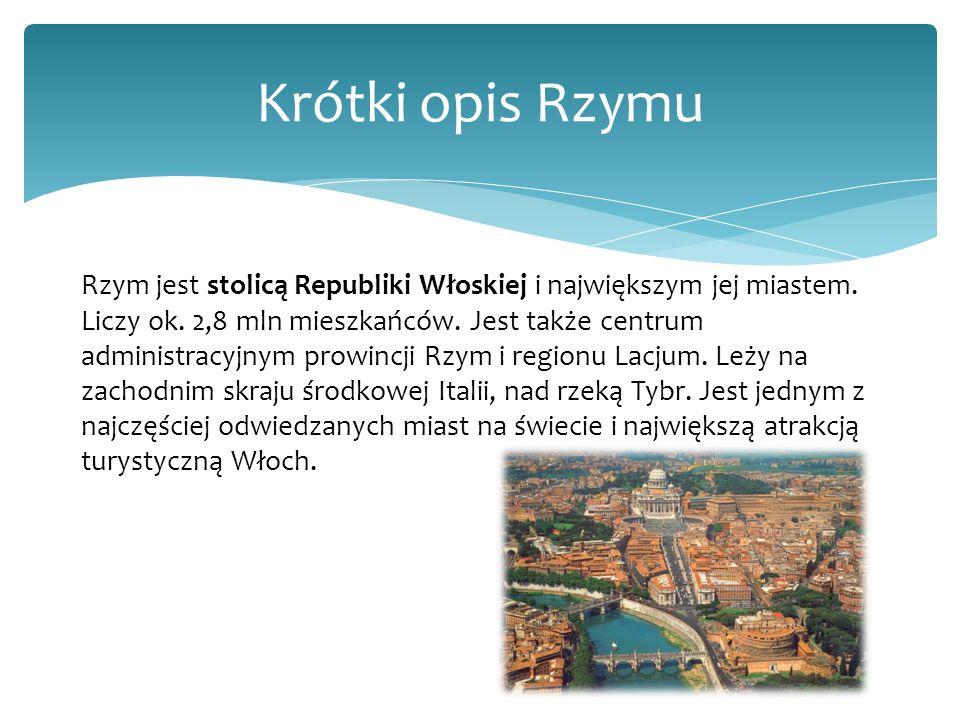 Krótki opis Rzymu