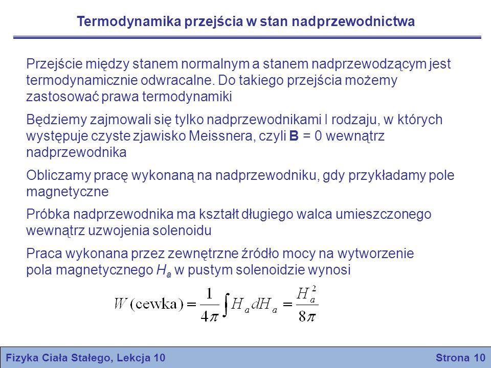 Fizyka Ciała Stałego, Lekcja 10 Strona 10