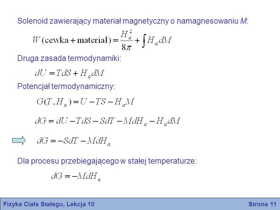 Fizyka Ciała Stałego, Lekcja 10 Strona 11