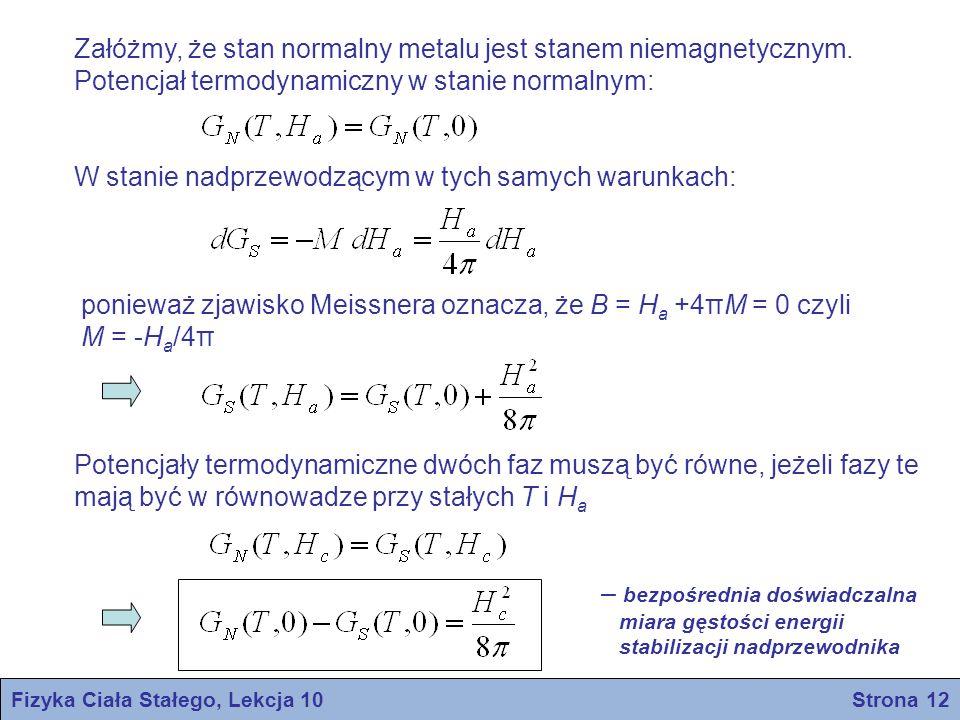 Fizyka Ciała Stałego, Lekcja 10 Strona 12