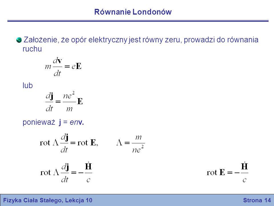 Fizyka Ciała Stałego, Lekcja 10 Strona 14