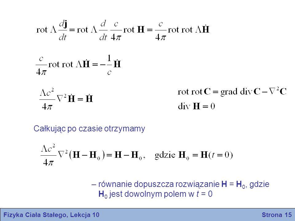 Fizyka Ciała Stałego, Lekcja 10 Strona 15