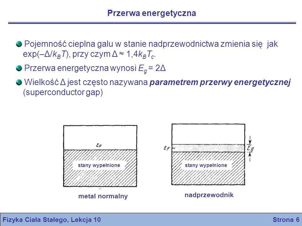 Fizyka Ciała Stałego, Lekcja 10 Strona 6