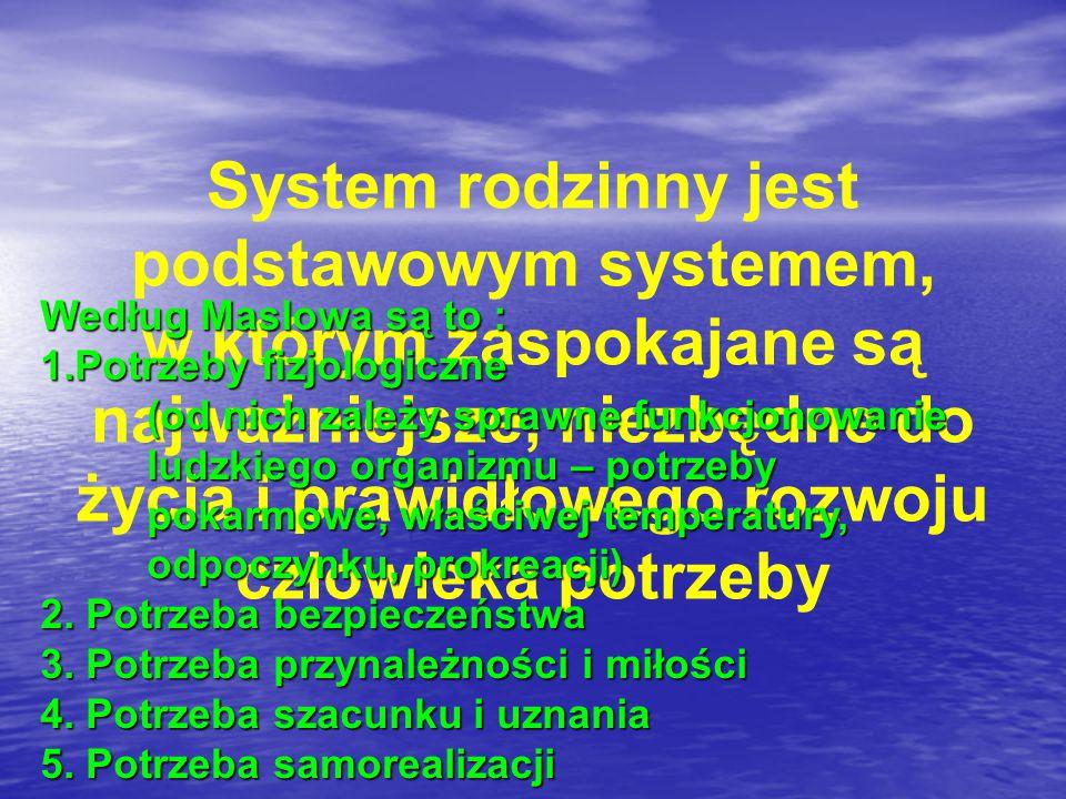 System rodzinny jest podstawowym systemem,