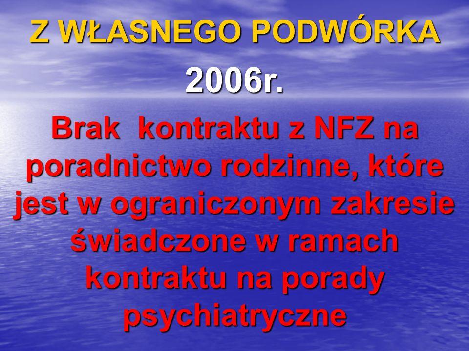 Z WŁASNEGO PODWÓRKA 2006r.
