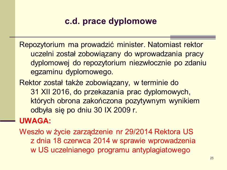c.d. prace dyplomowe