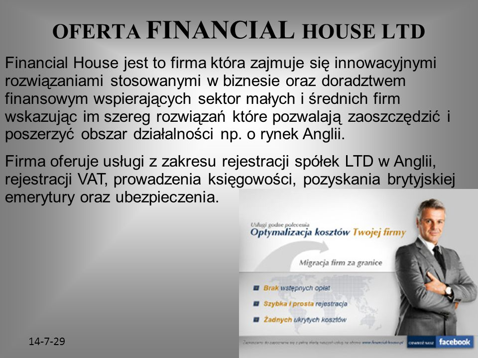 OFERTA FINANCIAL HOUSE LTD