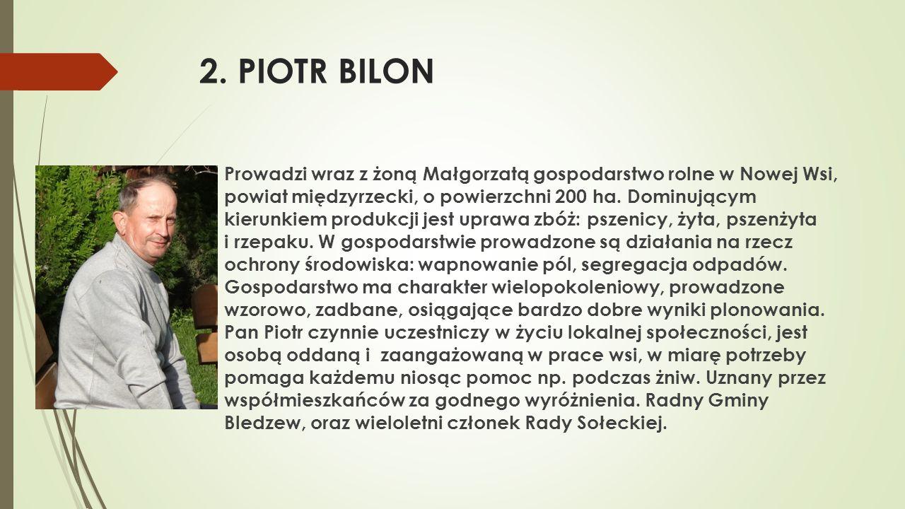 2. PIOTR BILON