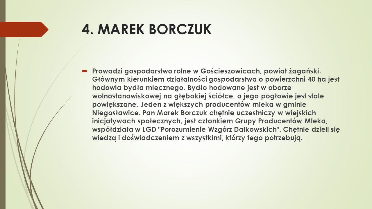 4. MAREK BORCZUK