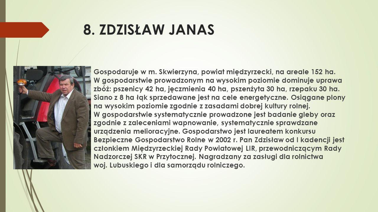 8. ZDZISŁAW JANAS
