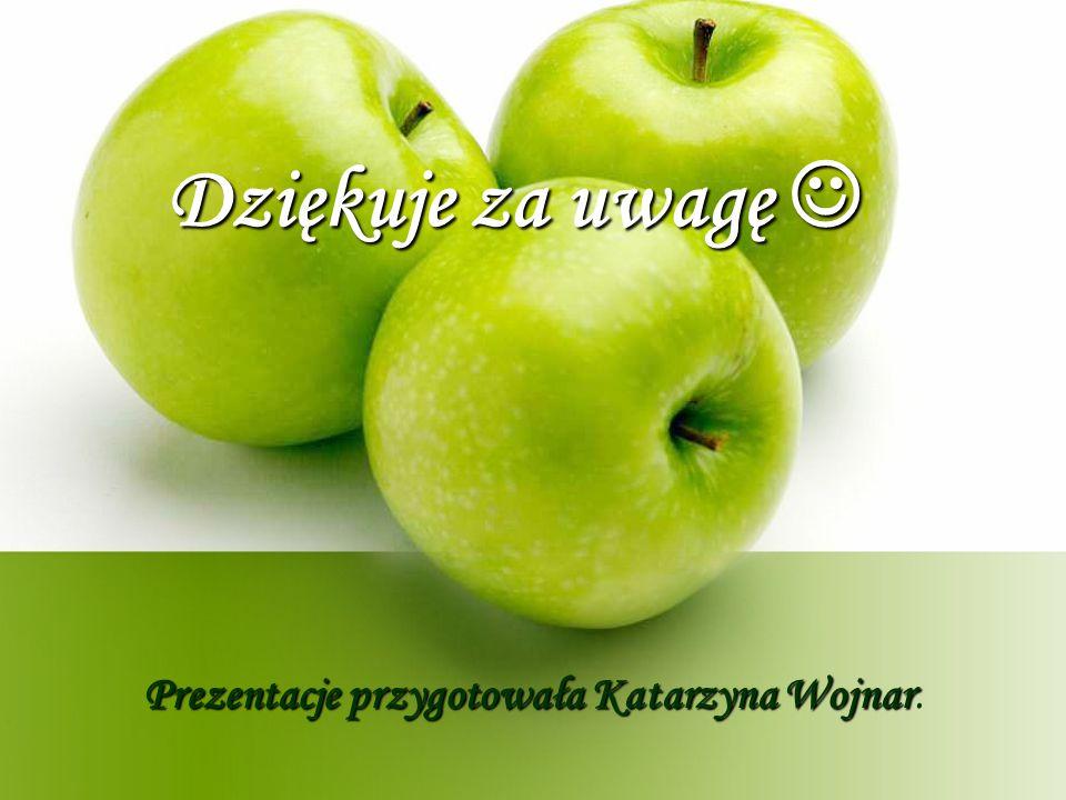 Prezentacje przygotowała Katarzyna Wojnar.