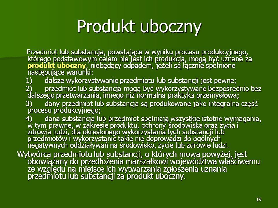 Produkt uboczny
