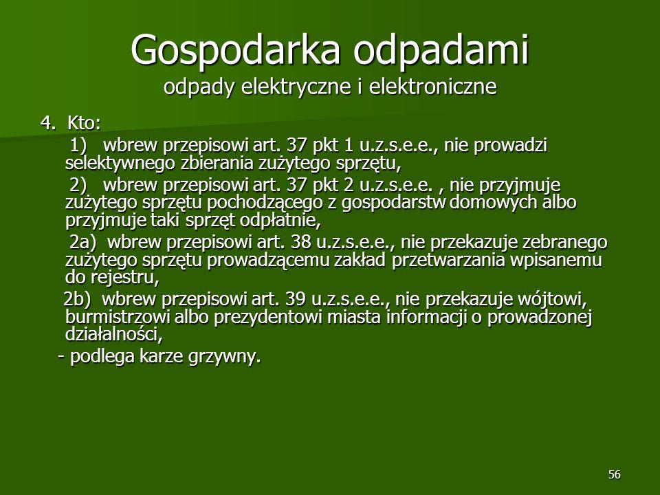 Gospodarka odpadami odpady elektryczne i elektroniczne