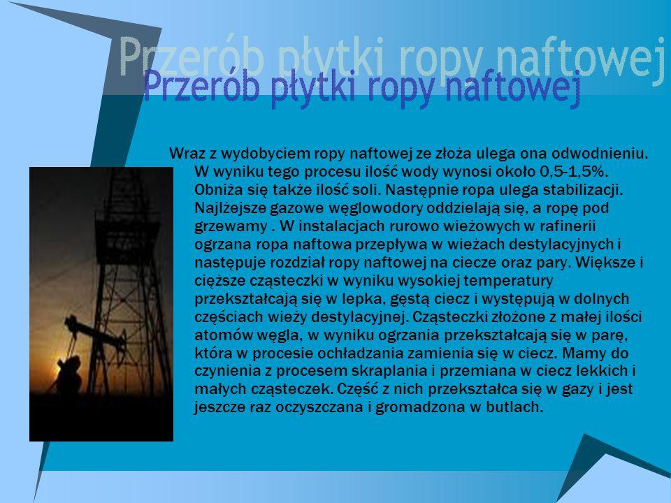 Przerób płytki ropy naftowej